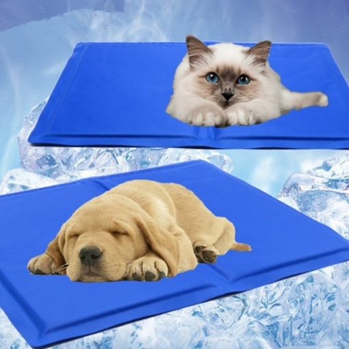 Pet Cooling Gel Mat Bed Dog & Cat Summer Heat Relief Non Toxic Cushion Pad