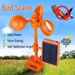Solar Bird Scarer Repeller Kite Pigeon Repellent Keep Birds Away Deterrent Spike